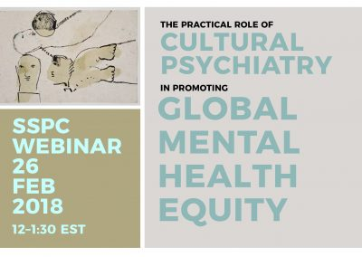 The Practical Role of Cultural Psychiatry in Promoting Global Mental Health Equity