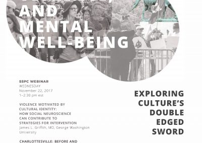 Culture, Violence, and Mental Well-Being: Understanding Culture as a Double-Edged Sword