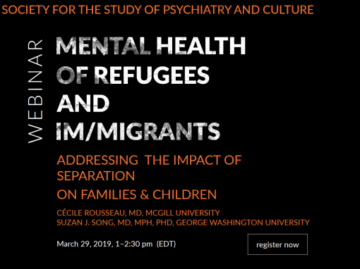 Mental Health of Refugees and Im/migrants: Addressing the Impact of Separation on Children and Families