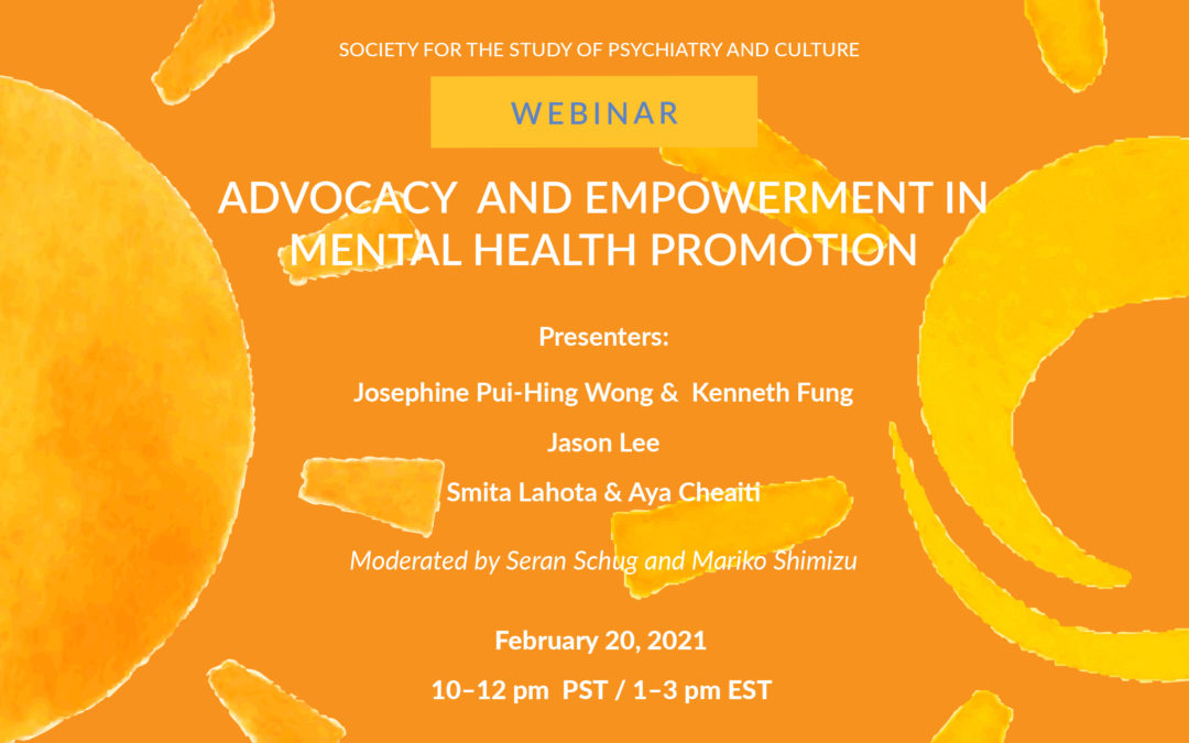 Webinar: Advocacy and Empowerment in Mental Health Promotion